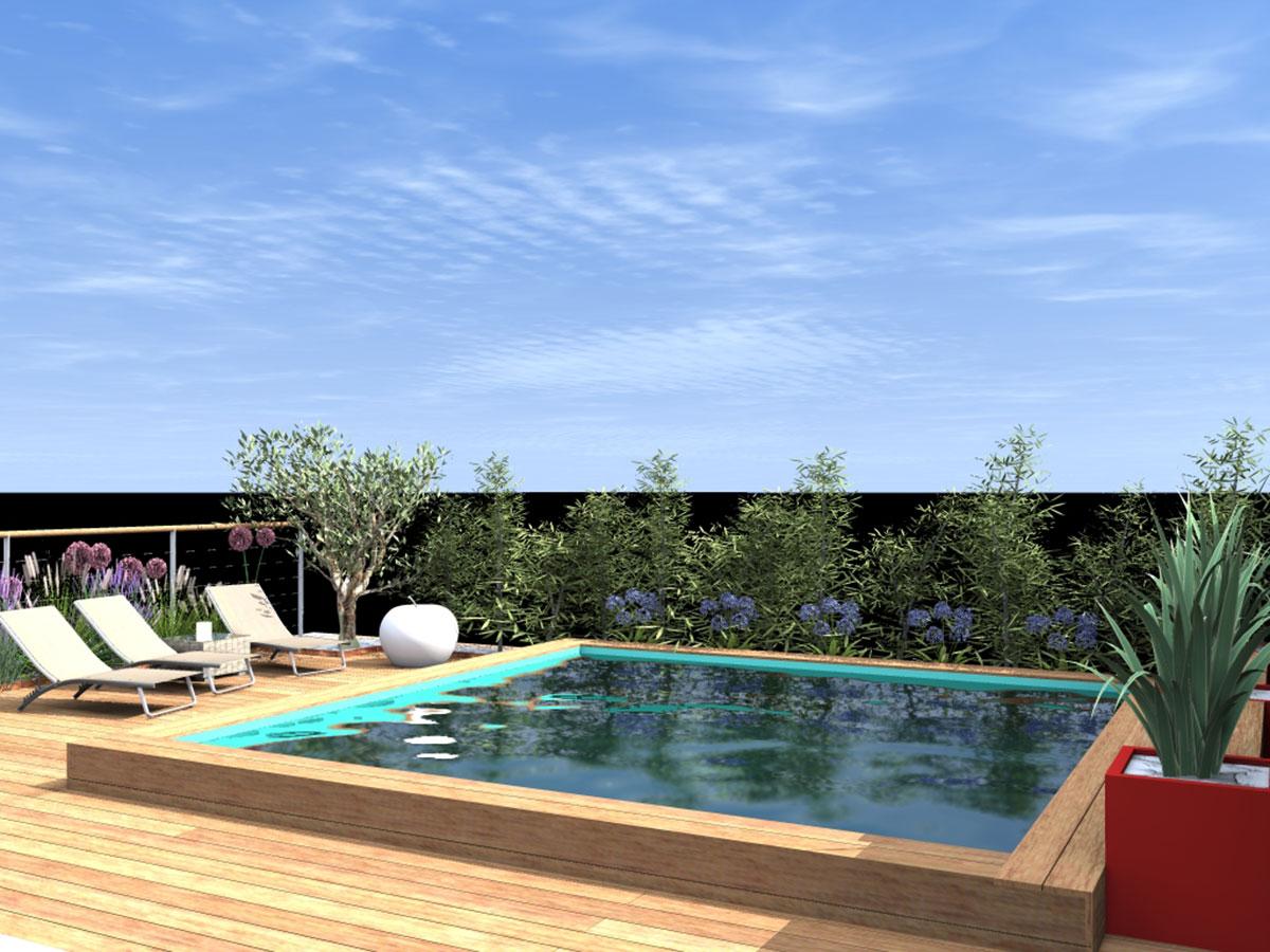 votre projet en 3d evol paysagiste de l 39 ouest lyonnais. Black Bedroom Furniture Sets. Home Design Ideas