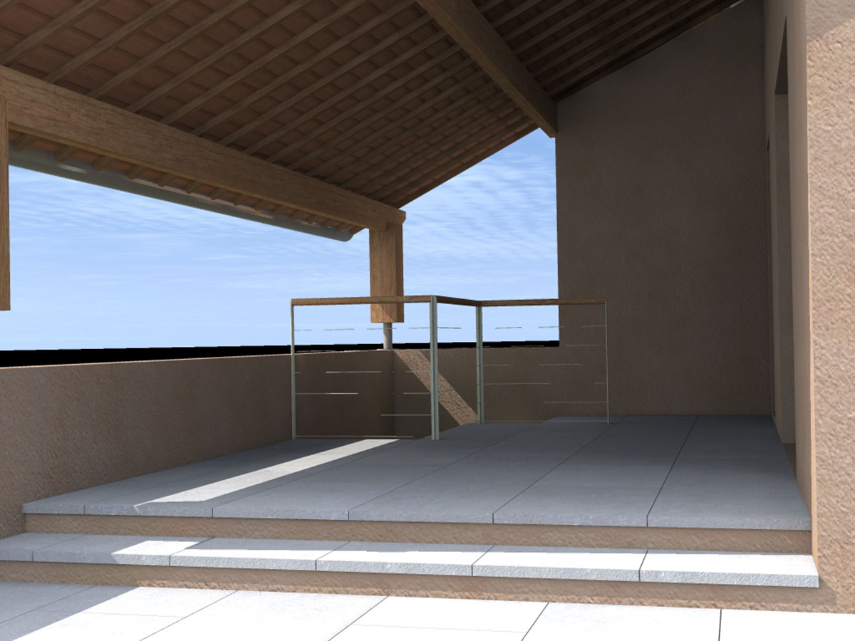Votre projet en 3d evol paysagiste de l 39 ouest lyonnais for Projet terrasse en 3d